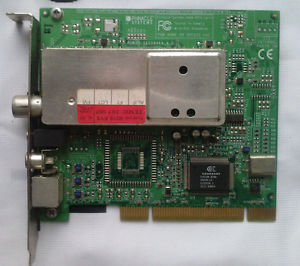 Pinnacle ROB2D Conexant Fusion 878A TV Tuner Video Capture PCI Device